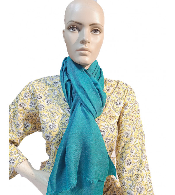 Cashmere Hand Woven Plain Pashmina Stole Size,28X80 Inch