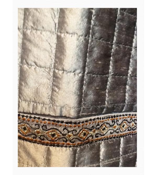 Dupion Silk Nehru Jacket size 42 Inch