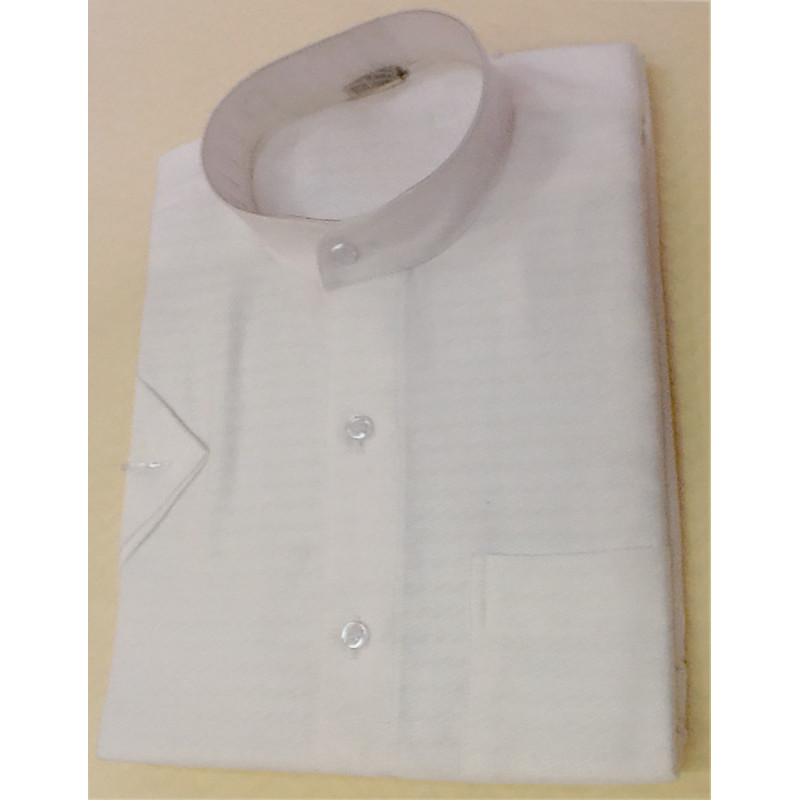 Cotton Shirt Half Sleeve Size 38 Inch
