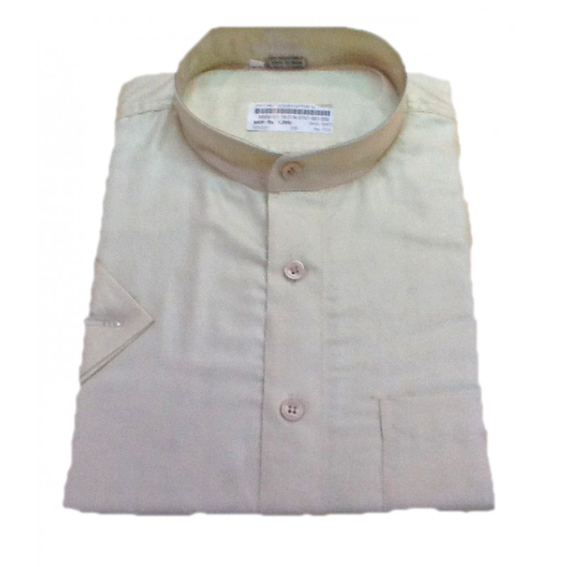 Cotton Shirt Half Sleeve Size 44 Inch