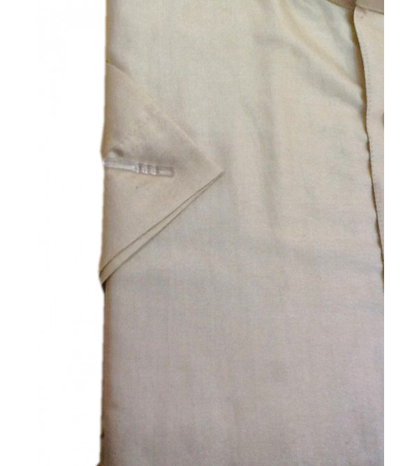 Cotton Shirt Half Sleeve Size 44  Inch