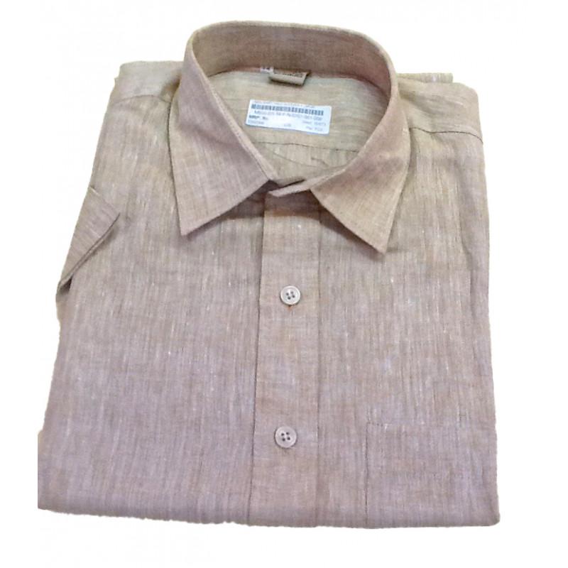 Linen Shirt Half Sleeve Size 44 Inch