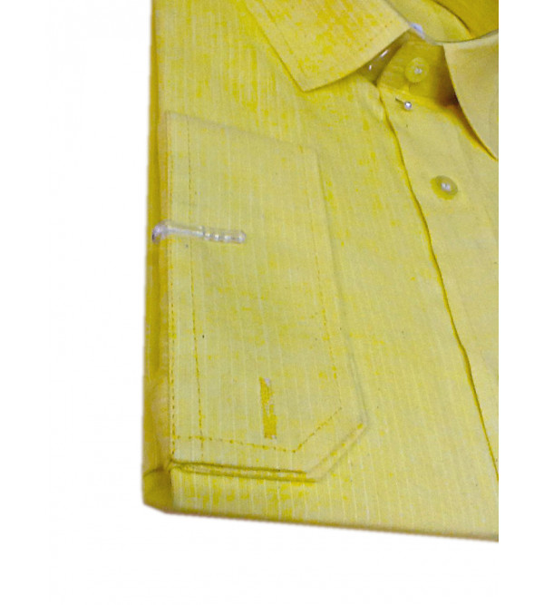 Plain Cotton Shirt Full Sleeve Size 44 Inch
