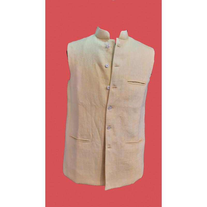 Linen Nehru Jacket size 40 Inch