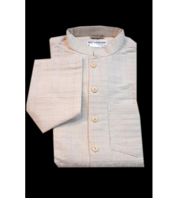 Cotton Long Kurta Handloom Full Sleeve Size 38 Inch