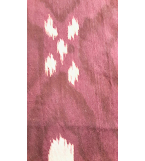 Cotton Ikat Short Kurta Half Sleeve Size 48 Inch