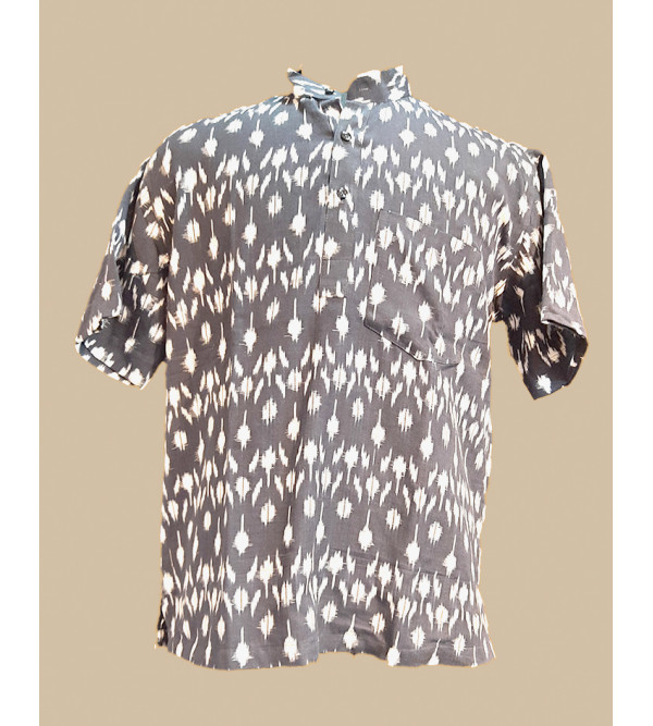 KURTA SHORT COTTON PRINTED XL44