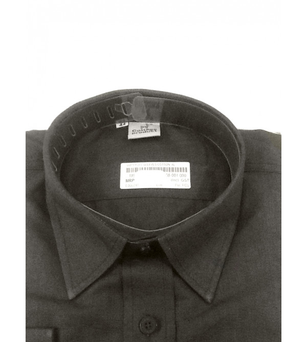 Plain Cotton Shirt Full Sleeves Size 44 Inch