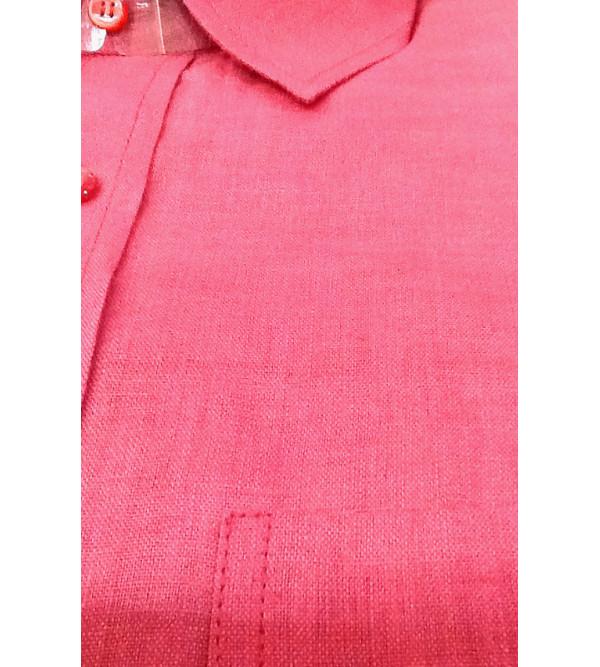 Linen Shirt Full Sleeve Size 44 Inch