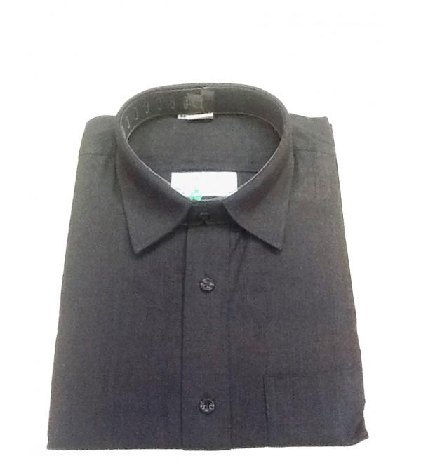 Cotton Plain Shirt Full Sleeve Size 44 Inch