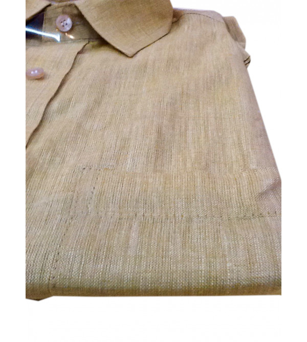 Linen Shirt Full Sleeve Size 46 Inch
