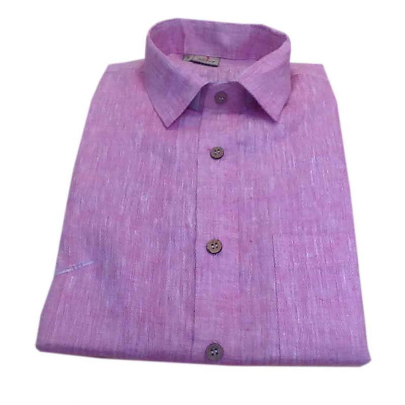 Linen Shirt Full Sleeve Size 38 Inch