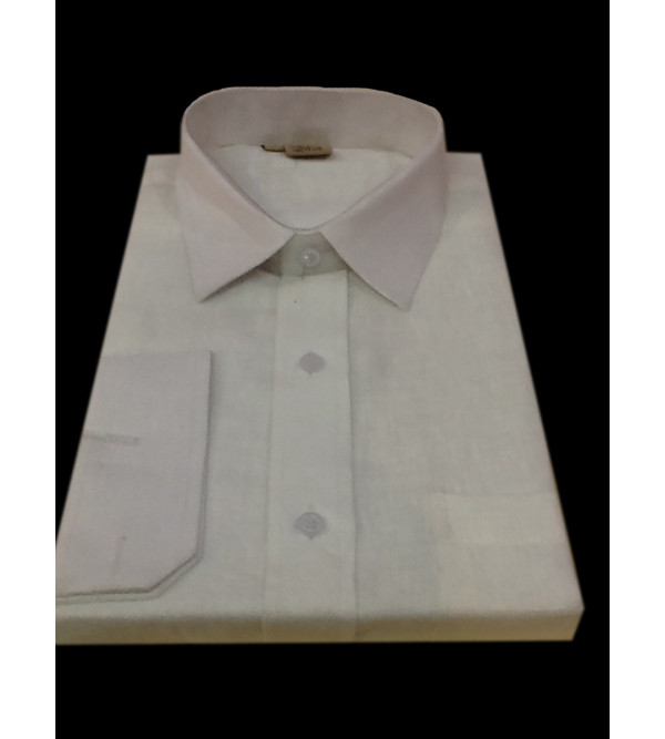 Linen Shirt Full Sleeve Size 44 Inch