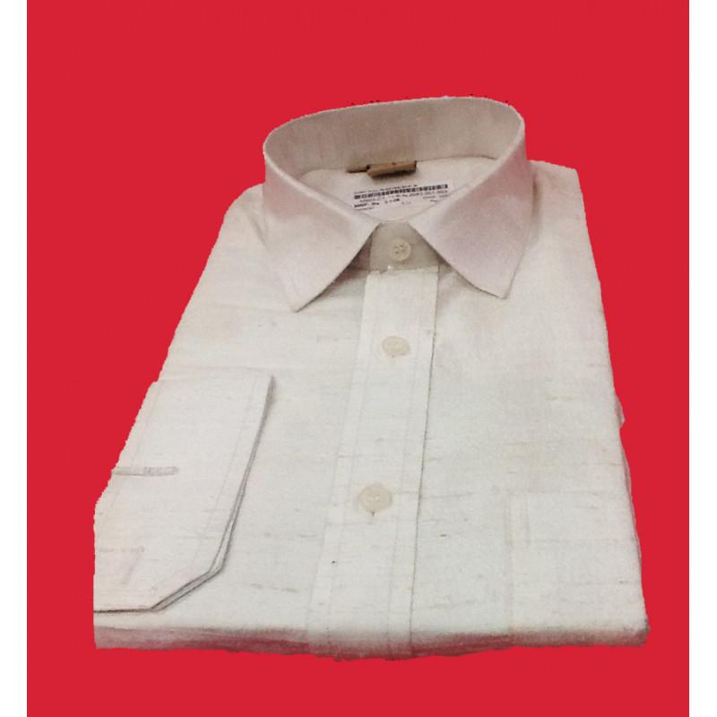 Silk Shirt Full Sleeve Size 40 Inch