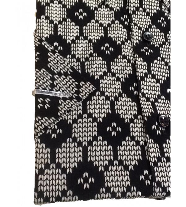 Printed Cotton Shirt Half Sleeve Size 44 Inch
