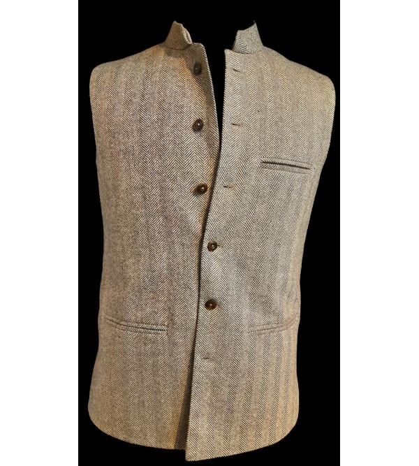 Tweed Woolen Nehru Jacket size 38 Inch