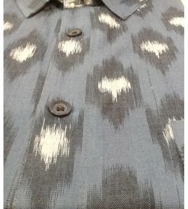 Cotton Shirt Half Sleeve Size 42 Inch