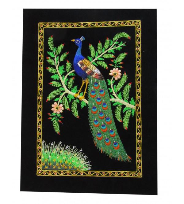 Carpet Jewel 100 Zari Work Size 1.5 X1 Ft