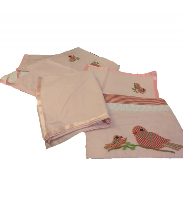 BED SHEET FOR CHILDREN COTTON Embroidery