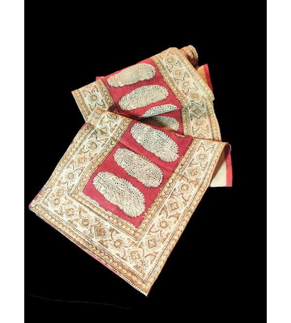 Cotton Hand Block Printed Table  Runner Size 13x72 Inch
