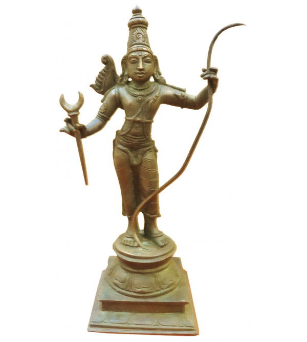 HANDICRAFT RAMA AVATHARAM BRONZE 10 INCH