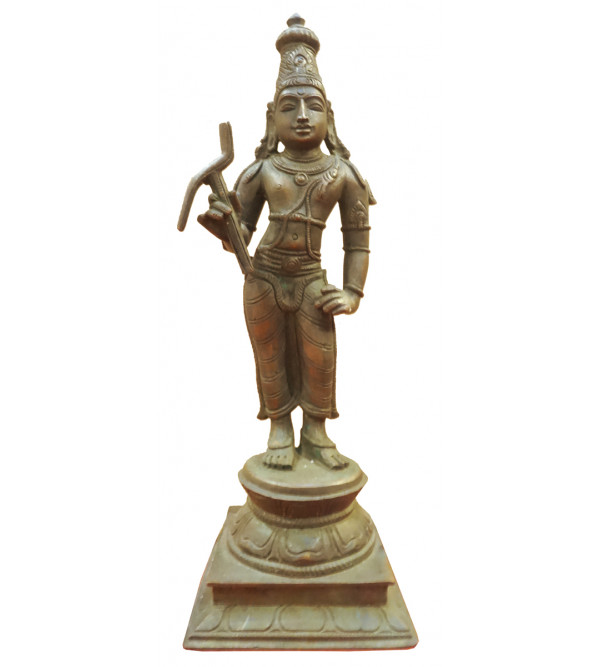 Balarama Avatharam Handcrafted In Bronze Size 10 Inches
