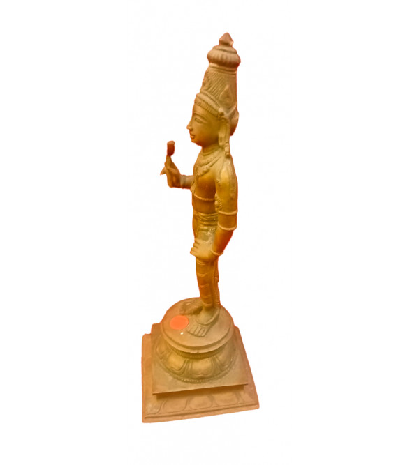 Balarama Avatharam Handcrafted In Bronze Size 9 Inches