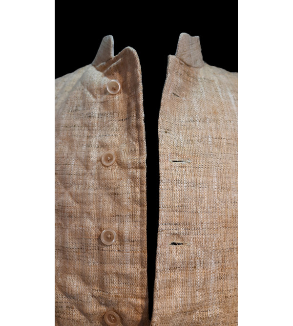 Cotton Plain Nehru Jacket size 38 Inch