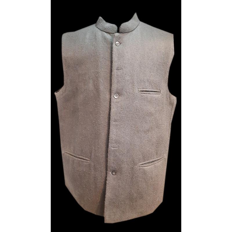 Tweed Woolen Nehru Jacket size 48 Inch
