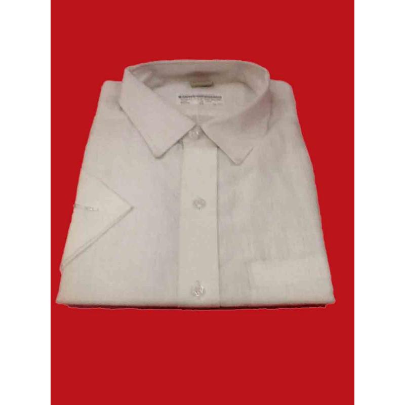 Linen Shirt Half Sleeve Size 46 Inch