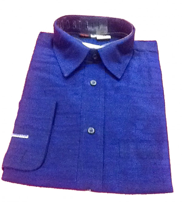 Silk Shirt Full Sleeve Size 38 Inch