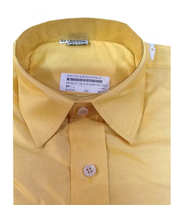 Cotton Shirt Full Sleeve Size 40 Inch