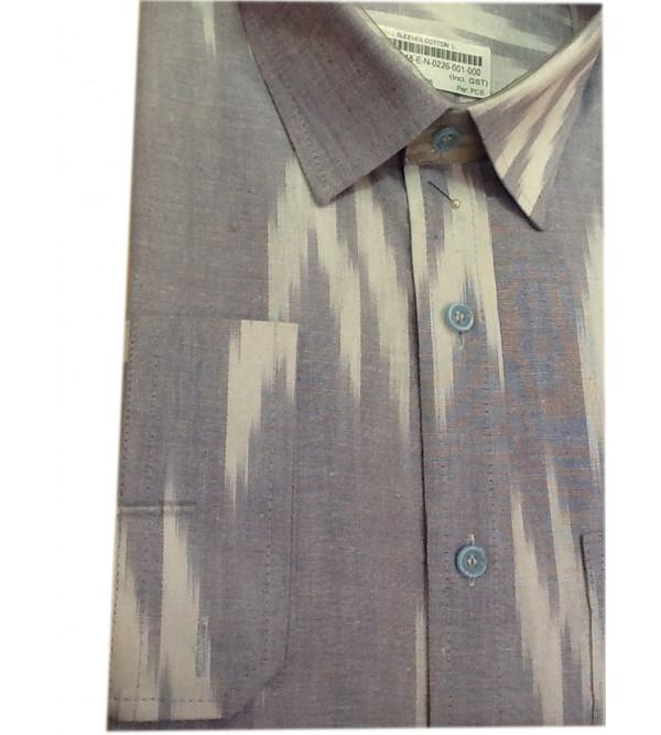 Ikat Shirt Handloom Full Sleeve Size 42 Inch