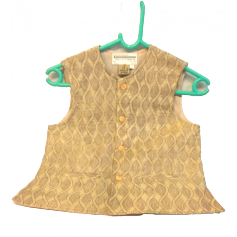 Silk Kantha Work Embroidery Quilted Jacket Size 6 to 8 Yr
