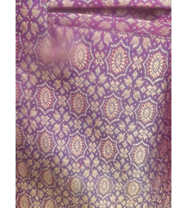 Tanchoi Silk Nehru Jacket size 40 Inch