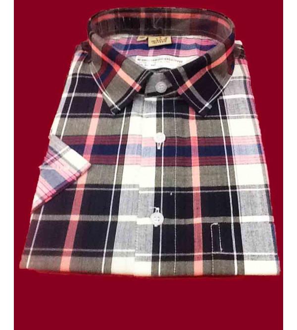 Shirt Half Sleeves Cotton  XXL