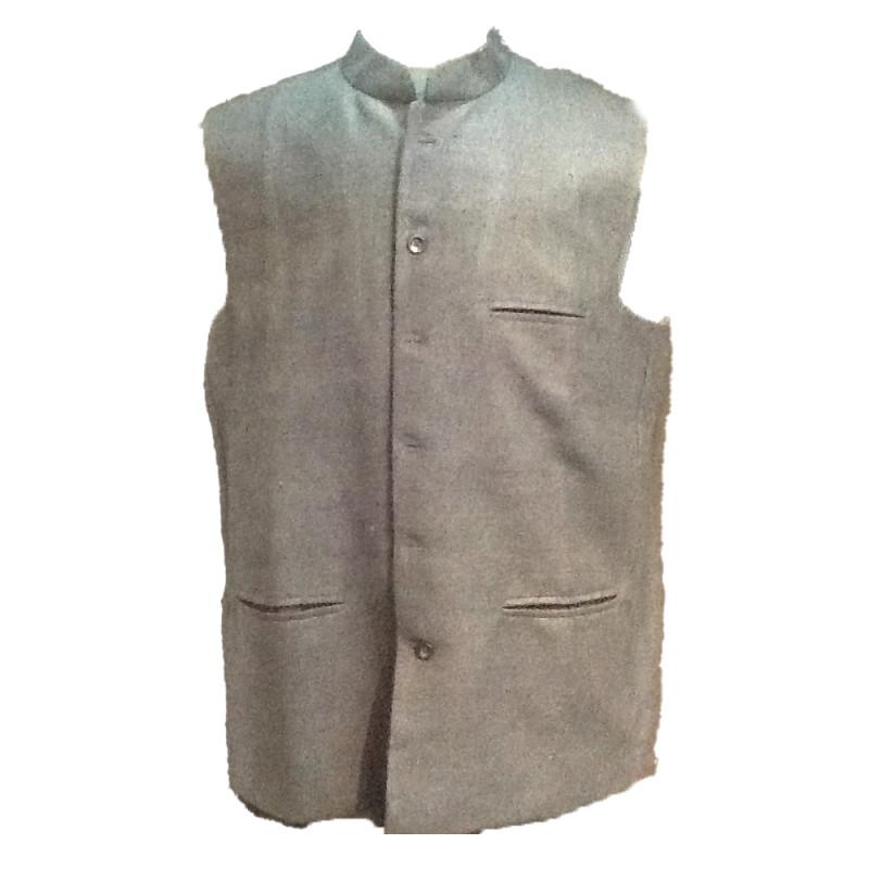 Matka Silk Nehru Jacket size 46 Inch