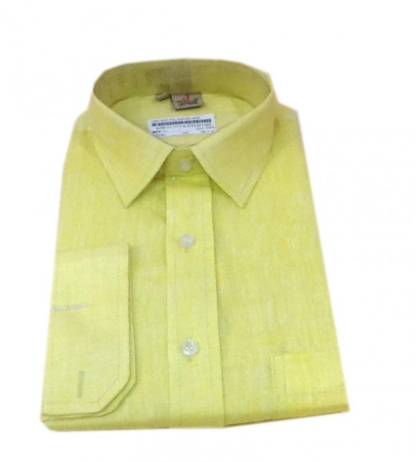 Linen Shirt Full Sleeve Size 42 Inch