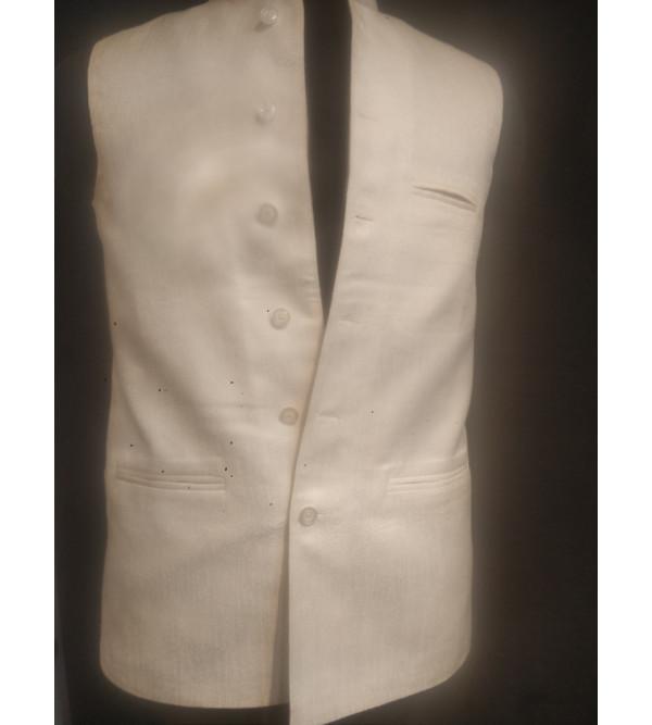 Dupion Silk Nehru Jacket size 38 Inch