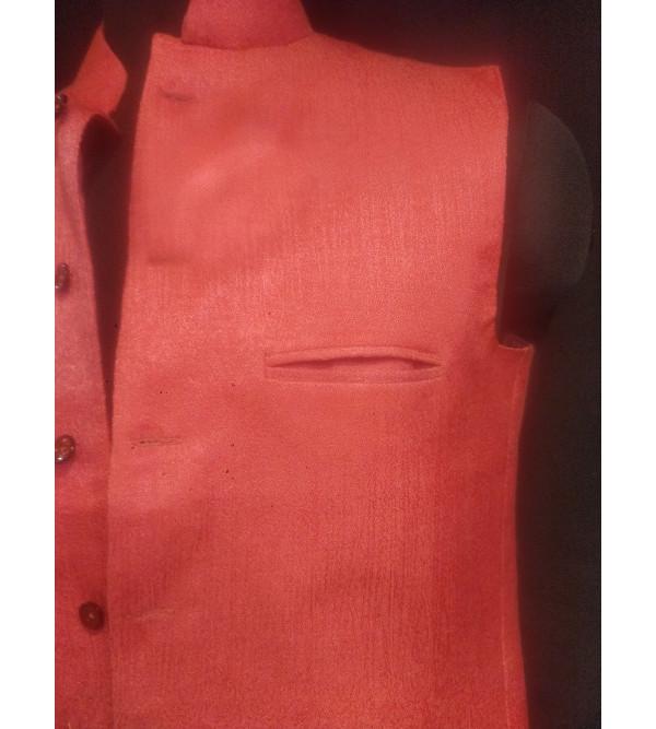 Dupion Silk Nehru Jacket size 40Inch
