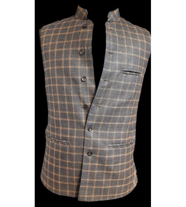 Tweed Woolen Nehru Jacket size 46 Inch