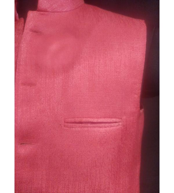 Dupion Silk Nehru Jacket size 40 Inch