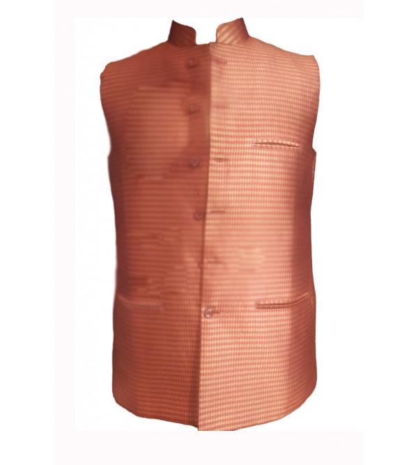 Silk/Cotton Nehru Jacket size 40 Inch