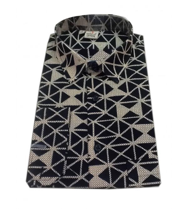 Printed Shirt Handloom Full Sleeve Size 40 Inch