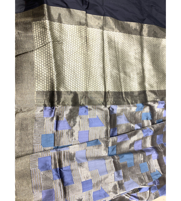 Katan Silk Handloom Banaras Jaal Kadua Saree with Blouse
