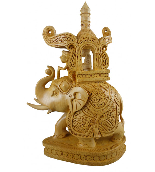 Kadamba Wood Handcrafted Carved Ambari