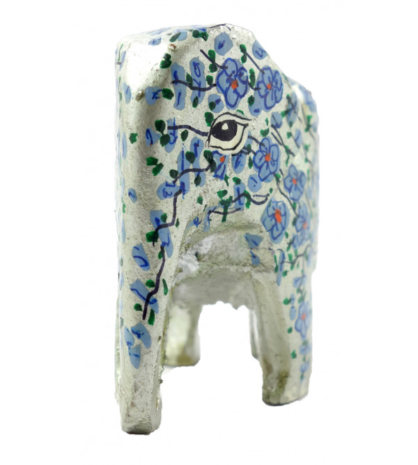 HANDICRAFT ASSORTED ELEPHANT  PAPER MACHE 2 INCH WOOD