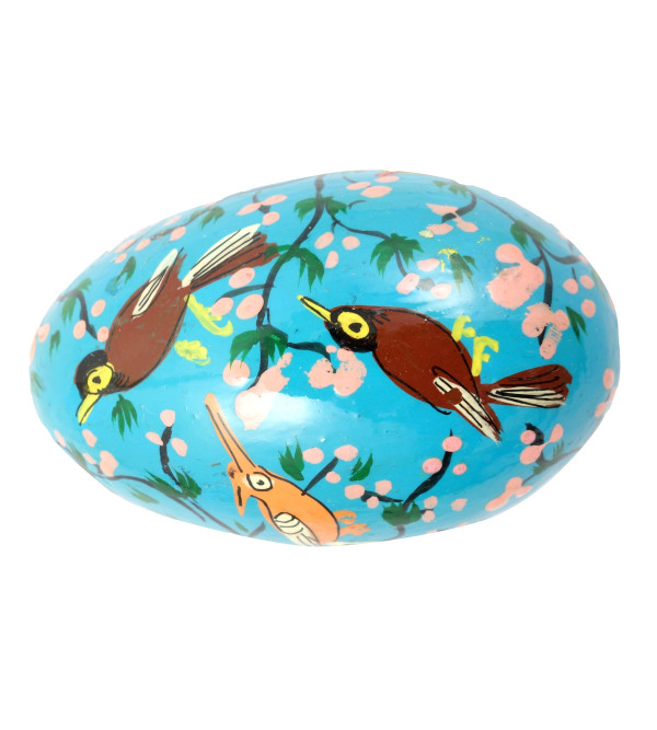 HANDICRAFT ASSORTED EASTER EGG  PAPER MACHE 3 INCH
