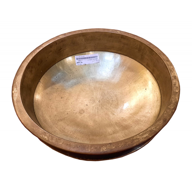 Old Urli Handcrafted In Brass Size 12X4 Inches
