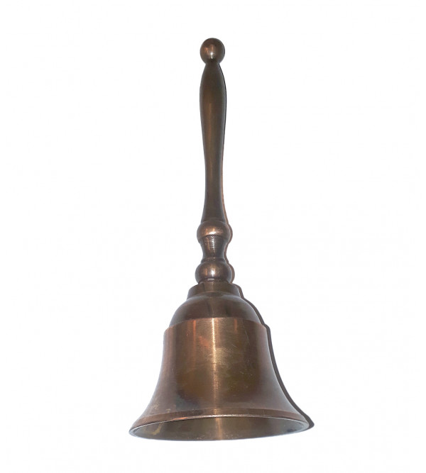 BELL TWO TONE BRASS COPPER FINISH ,6.5 INCH